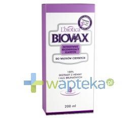 BIOVAX Szampon regenerujący włosy ciemne 200 ml