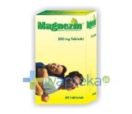 Magnezin 60 tabletek NIE MA TAKIEGO  + ZŁE ZDJ