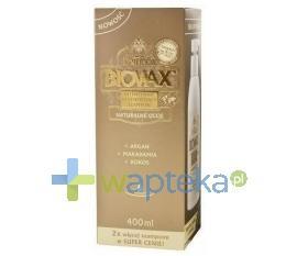 BIOVAX Szampon Argan Makadamia Kokos 400ml
