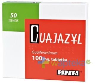 Guajazyl 100mg 50 tabletek