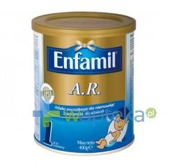 ENFAMIL A.R. 1 Mleko początkowe 0-6 mc 400g