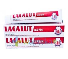 LACALUT ACTIVE pasta do zębów 2 x 75ml Duopack