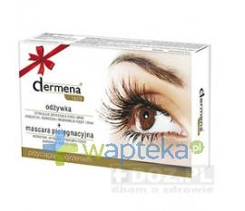 DERMENA LASH Odżywka do rzęs 10ml + Mascara do rzęs 10ml