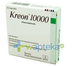 Kreon 10000 kapsułki 20 sztuk