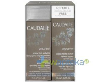 CAUDALIE Vinexpert serum 30 ml + Krem na noc infusion 30 ml