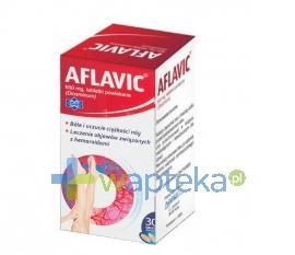 Aflavic 600mg 30 tabletek (pojemnik)