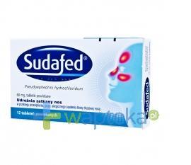 Sudafed 60mg 12 tabletek USTAWA!