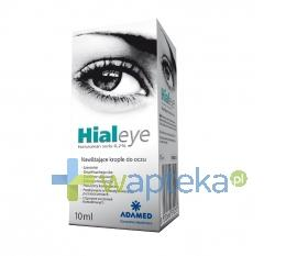 Hialeye 0,2% krople do oczu 10 ml