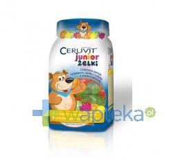 Ceruvit Junior żelki o smaku owocowym 50 żelków