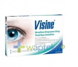 Visine Zmęczone Wrażliwe Oczy krople do oczu 10 x 0,5 ml