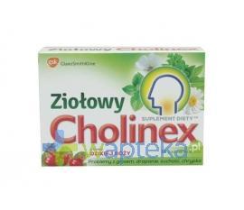 Cholinex Ziołowy smak dzikiej róży 16 pastylek do ssania