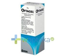 Oftagel żel do oczu 10 g