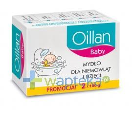 OILLAN BABY Mydło dla niemowląt i dzieci 200g (2x100) 1821