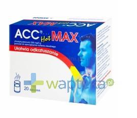 ACC Hot MAX 200mg 20 saszetek