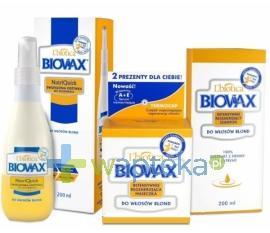BIOVAX zestaw do włosów blond ( maska, szampon, odżywka )