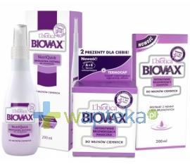 BIOVAX zestaw do włosów ciemnych ( maska, szampon, odżywka )