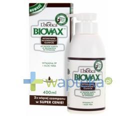 BIOVAX Szampon regenerującydo włosów ze skłonnością do wypadania 400 ml