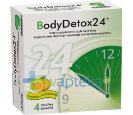 BodyDetox24 proszek 4 saszetki
