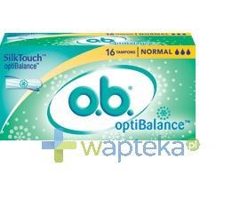 Tampony higieniczne OB Optibalance Normal 16 sztuk