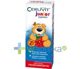 Ceruvit Junior syrop smak truskawkowy 120ml