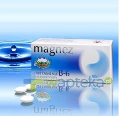 Magnez + Witamina B6 50 tabletek NATURELL