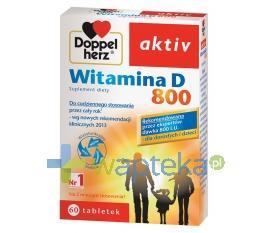 Doppelherz aktiv Witamina D-800 60 tabletek - Data ważności 31-03-2017