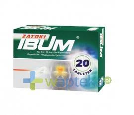 Ibum Zatoki 20 tabletek USTAWA!