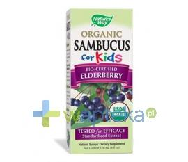 Sambucus for kids Natures Way syrop 120ml
