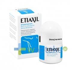 ETIAXIL SENSITIVE Antyperspirant pod pachy 15ml
