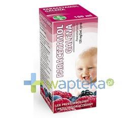 Paracetamol syrop 100 ml GALENA