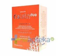 Calsin Duo D3 tabletki do ssania 32 sztuki