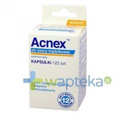 ACNEX do skóry trądzikowej 120 kapsułek
