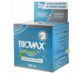 BIOVAX Maseczka keratyna + jedwab 500 ml