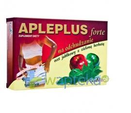 Apleplus Forte z zieloną herbatą 30 tabletek