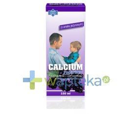 Calcium Syrop o smaku jeżynowym 150ml POLFARMEX