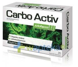 Carbo Activ Węgiel leczniczy 20 kapsułek