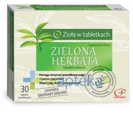 Zielona Herbata 60 tabletek powlekanych