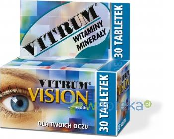 Vitrum Vision 30 tabletek