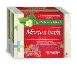 Morwa biała 120 tabletek