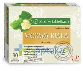 Morwa biała 30 tabletek