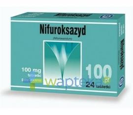 Nifuroksazyd 100mg 24 tabletki powlekane HASCO