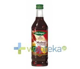 Syrop OWOCOWA SPIŻARANIA Malina z cytryną 420 ml