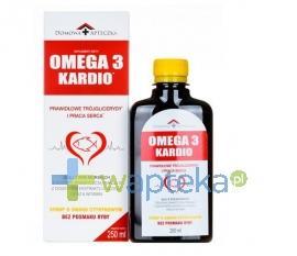 Omega-3 Kardio syrop smak cytrynowy 250 ml