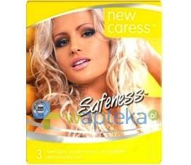 Prezerwatywy NEW CARESS plemnikobójcze 3 sztuki