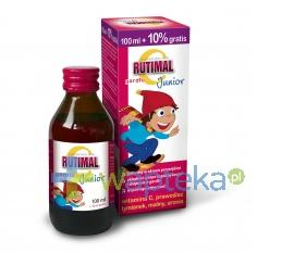 Rutimal C Junior gardło syrop 100 ml