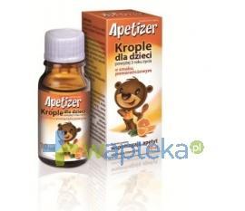 Apetizer Krople dla dzieci o smaku pomarańczowym 10ml