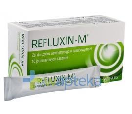 Refluxin M Żel 10 saszetek