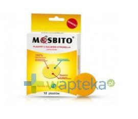 MOSBITO Plastry odstraszające komary 12 sztuk