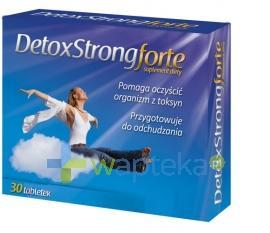 Detoxstrong Forte 30 tabletek