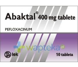 Abaktal tabletki powlekane 400mg 10 sztuk